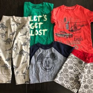 Boys 3T lot tshirts, shorts, pants